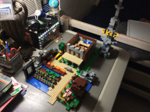 I build pewdiepies Minecraft house out of LEGO day 9 (meatball was smaller than expected): DENT-A-KID  RVC  EICA  LETS ASSUME YOU'R  WRONG&M RIGHT S  WE DONT WASTE  ANYMORE TI  CBro0  Swiss mIss  amo amazing  wwo00000000 I build pewdiepies Minecraft house out of LEGO day 9 (meatball was smaller than expected)