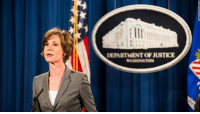 """Memes, 🤖, and Citizen: DEPARTMENT OFJUSTICE President Donald J. Trump fired acting Attorney General Sally Yates for """"refusing to enforce a legal order designed to protect the citizens of the United States."""" Replacement already sworn in. http://cnn.it/2kaQdae"""