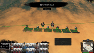 Heat, Spring, and Rough: DEPLOYMENT PHASE  START BATTLE  SAND  0:00  Coarse, rough and irritating, sand gets  everywhere, creating inhospitable conditions.  Units suffer Movement penalties from the heat  while moving through it.  BATTLE OF ANDING,  TOOLMAKER  2851  21  60 3  5 240 1  2 240 3 240 4 240  60 2  60  4 5 240  SPRING 216  O  OO  60 3  60 2 60  4 240  1  4 6 240  2 240 3 240 3 240 Just noticed this gem