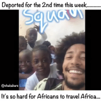"Africa, Clothes, and Crying: Deported for the 2nd time this week....  @chakabars  It's so hard for Africans to travel Africa.. (Continued from the last post) I'm still crying, I've never cried for this long. I'm been so hurt, I'm not feeling sorry for myself. I'm feeling sorry for Africa. What am I going to do now, go back to slave privileges afforded by the destruction of African people. Capitalism was built on the destruction of Africa. I don't want capitalistic privileges, I don't want a European car, house, clothes, food or European racism. That in my eyes isn't success, I just want to be with my people in my culture in the lands that I was stolen from. Many people won't understand what has been done because they don't read enough about the subject, for all those about to cry privileged tears, talking about ""Chaka you can't say Europeans!"", I can and I did, sort your f*cking people out. Sitting on the fence talking about kumbaya, while Africa is raped and Africans are murdered by European police across the globe isn't good enough. If you are fighting racism then I applaud you, if you are European, and you take a stand to change things for the better then I applaud you, if you are just here for the memes and banter then you don't have a right to speak. As for f*cking white Jesus all over Africa, F*ck white Jesus, an invented white deity isn't gong to free Africans from white oppression. Neither is Islam, how are the African countries where islam is the main belief system structurally? They are messed up! How are you a religious leader and rich? You can talk all the Allah talk you want, what are you doing for Africans? What is use is there praying everyday but not doing anything. Look at what just happened at grenfell tower, look at how many Africans just died because of racism. We need unity... more below (If you make this about god I'll block you)"