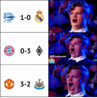 Memes, 🤖, and Che: DEPORTIVO  1-0  ALAVES  FUNDADO EN 1921  0-3  CHE  f TrollFootball  3-2  VITED Some shocking results tonight https://t.co/o2gtKmlCNP