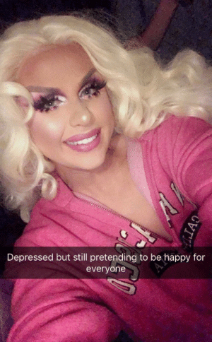 Happy, Be Happy, and Still: Depressed but still pretending to be happy for  everyone