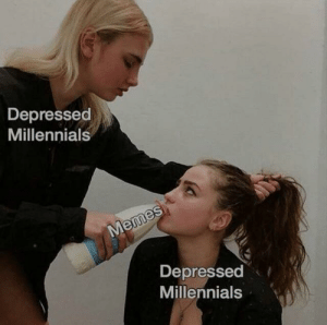 How you cure ADHD.: Depressed  Millennials  Memes  Depressed  Millennials How you cure ADHD.