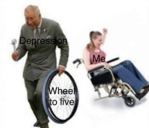 Depression, Live, and Hee: Depression  hee  to live