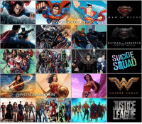 Batman, Memes, and Squad: DER AUG  ONDERMAUG  M A N OF  BATMAN  SUPERMAN  SUICIDE  WONDER WOMAN  LUSTRE LIVE-ACTION • COMIC BOOK • ANIMATION The World of the DC Universe Man of Steel Batman v Superman Suicide Squad Wonder Woman Justice League As for Aquaman, still waiting for an official image of him from his solo film scheduled for release December 2018 * @henrycavill @benaffleck @gal_gadot @prideofgypsies @jaredleto @margotrobbie @willsmithphotos @violadavis *** mywonderwoman girlpower women femaleempowerment MulherMaravilha MujerMaravilla galgadot unitetheleague princessdiana dianaprince amazons amazonwarrior manofsteel thedarkknight