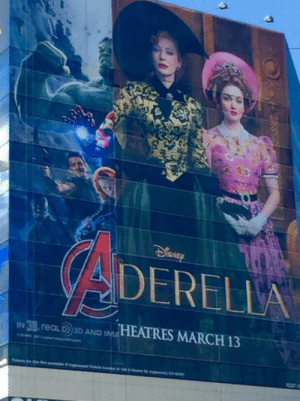 Disney, Tumblr, and Blog: DERELILA  IN30 reaL0)D AND dHEATRES MARCH 13 khaleezee: videoevan: Cate Blanchett pops Adderall and tries on hats for three hours in this instant Disney classic! she also gets a robot hand that shoots lasers