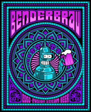 Tumblr, Blog, and Http: DERERA scifiseries:  Ladies and Gentlemen, to your attention to Benderbrau!