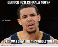 Javale hearing the D-Rose news! Credit: Virad Bhatti  http://www.lolception.com/1711: DERRICK ROSE IS FINALL 100%?  SO HE WAS CHARGING THIS WHOLE TIME Javale hearing the D-Rose news! Credit: Virad Bhatti  http://www.lolception.com/1711
