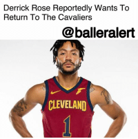 "Cavs, Cleveland Cavaliers, and Derrick Rose: Derrick Rose Reportedly Wants To  Return To The Cavalierss  @balleralert  CLEVELAND Derrick Rose Reportedly Wants To Return To The Cavaliers – blogged by @MsJennyb ⠀⠀⠀⠀⠀⠀⠀ ⠀⠀⠀⠀⠀⠀⠀ After taking some time to reconsider his career in the NBA and recover from a sprained ankle, DerrickRose has revealed that he's ready to return to the Cleveland Cavaliers. ⠀⠀⠀⠀⠀⠀⠀ ⠀⠀⠀⠀⠀⠀⠀ According to Jason Lloyd of The Athletic, just 10 days after leaving the team to debate his future in the league, Rose wants to come back. However, with the team on an 11-game winning streak, ""where he fits now remains to be seen,"" Lloyd reports, but ""The Cavs are expected to have an announcement regarding Rose on Sunday."" ⠀⠀⠀⠀⠀⠀⠀ ⠀⠀⠀⠀⠀⠀⠀ Rose's injury issue dates back to 2012 postseason. However, upon his arrival in Cleveland, the baller had been ready for a fresh start. But, when he tweaked his ankle on Oct. 20, things took a turn for the worse. One month later, the team said Rose would be undergoing treatment on his ankle, with plans to reevaluate in a few weeks, Bleacher Report states. However, just days later, Rose considered hanging it all up. ⠀⠀⠀⠀⠀⠀⠀ ⠀⠀⠀⠀⠀⠀⠀ Rose's decision to take some time off to reevaluate his future, prompted several former and fellow teammates to release statements of support. LeBron James offered his support, saying, ""Whenever he's ready to tell us or whatever, we're ready for that. You don't ever fast-track someone's process of what they may be going through. When they're ready to talk about it or ready to bring it to the forefront, as his teammates, we'll be ready for it."" ⠀⠀⠀⠀⠀⠀⠀ ⠀⠀⠀⠀⠀⠀⠀ ""I don't know what the organization's stand on that is. That's different,"" he continued. ""From us as players, we don't need an answer from him. We want him to be as great as he can be, off the floor first before he even thinks about being on the floor."""
