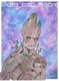 """News, Superhero, and Tumblr: @des amb moore <p><a href=""""https://superhero-news.tumblr.com/post/159003422447/finished-this-groot-watercolor-last-night-can-it"""" class=""""tumblr_blog"""">superhero-news</a>:</p>  <blockquote><p>Finished this Groot watercolor last night. Can it be May yet!?</p></blockquote>"""
