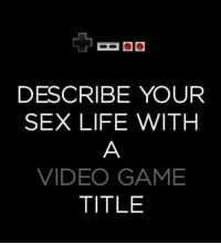 The Elder Scrolls 😂😂 Comment below! @gaming: DESCRIBE YOUR  SEX LIFE WITH  VIDEOGAME  TITLE The Elder Scrolls 😂😂 Comment below! @gaming