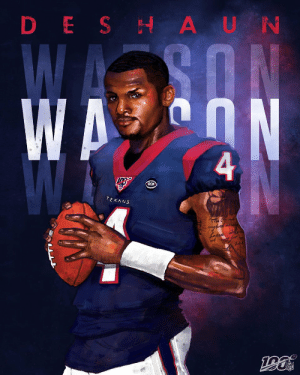 He brings the 🔥 every time he steps on the field.  Happy 24th Birthday, @deshaunwatson! 🎉 @HoustonTexans https://t.co/ckm8KODdUW: DESH AUN  WAY ON  4  RCM  TEXANS He brings the 🔥 every time he steps on the field.  Happy 24th Birthday, @deshaunwatson! 🎉 @HoustonTexans https://t.co/ckm8KODdUW
