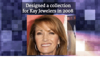 Jane Seymour, a.k.a. Dr. Quinn, Medicine Woman, celebrates her 66th Birthday today!: Designed a collection  for Kay Jewelers in 2008 Jane Seymour, a.k.a. Dr. Quinn, Medicine Woman, celebrates her 66th Birthday today!