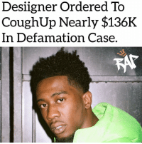 "Desiigner is being ordered by the judge to pay $135,777 to Jessica Brown for damages.⁣ -⁣ Jessica Brown filed a lawsuit against Desiigner for invasion of privacy as well as defamation.⁣ -⁣ Desiigner released a video on Instagram accusing Jessica of trying to scam him into paying for his sibling to go to Howard University.⁣ -⁣ Jessica actually owns a company that helps young people figure out how they're going to pay for college named College Gurl.⁣ -⁣ Jessica actually helped Desiigner's sister get into Howard University but Desiigner refused to believe it. ⁣ ⁣ ""This girl is a fraud. Tried to scam me into paying for my sister to get into Howard University and now she is trying to hold my sister's belongings. Please stay away from her and her college scams.""⁣ -⁣ Desiigner's sister eventually left the school and left her belongings.⁣ -⁣ RapTVSTAFF: @thatkidcm⁣ 📷 @willbeach__⁣: Desiigner Ordered To  CoughUp Nearly $136K  In Defamation Case Desiigner is being ordered by the judge to pay $135,777 to Jessica Brown for damages.⁣ -⁣ Jessica Brown filed a lawsuit against Desiigner for invasion of privacy as well as defamation.⁣ -⁣ Desiigner released a video on Instagram accusing Jessica of trying to scam him into paying for his sibling to go to Howard University.⁣ -⁣ Jessica actually owns a company that helps young people figure out how they're going to pay for college named College Gurl.⁣ -⁣ Jessica actually helped Desiigner's sister get into Howard University but Desiigner refused to believe it. ⁣ ⁣ ""This girl is a fraud. Tried to scam me into paying for my sister to get into Howard University and now she is trying to hold my sister's belongings. Please stay away from her and her college scams.""⁣ -⁣ Desiigner's sister eventually left the school and left her belongings.⁣ -⁣ RapTVSTAFF: @thatkidcm⁣ 📷 @willbeach__⁣"