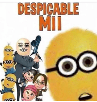 Anime, Funny, and Instagram: DESPICABLE  MII off to do stuff - - memes dankmemes tumblr lmao relatable cancer love kys funny wtf earrape cringe autism shrek followback amazing furries comedy anime igers kms trump smile playstation xbox idubbbz spongebob instagramers youtube instagram