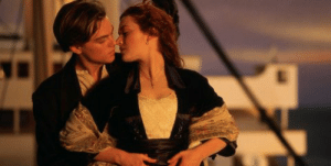 Despite being 22 at the time of the film Titanic's (1997) release, Kate Winslet's character, Rose, was canonically made to be 17 years old. This was done to make it more believable to the audience that Leonardo Dicaprio was still attracted to her.: Despite being 22 at the time of the film Titanic's (1997) release, Kate Winslet's character, Rose, was canonically made to be 17 years old. This was done to make it more believable to the audience that Leonardo Dicaprio was still attracted to her.
