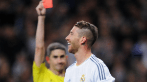 Despite being famous for getting red cards, Sergio Ramos has never received 2 red cards in a single game. https://t.co/PaVv0jicoB: Despite being famous for getting red cards, Sergio Ramos has never received 2 red cards in a single game. https://t.co/PaVv0jicoB