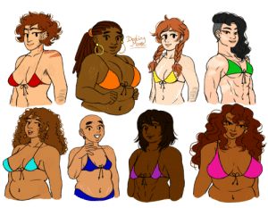 destinytomoon:    thinking about how all sizes/shapes of boobs are pretty  : destinytomoon:    thinking about how all sizes/shapes of boobs are pretty