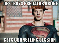 Military Memes: DESTROYS PREDATOR DRONE  GETS COUNSELING SESSION  http /military-memes com