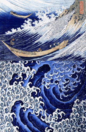 detailedart:  By the Japanese artist Katsushika Hokusai (ca. 1830 and 1833, color woodblock).: detailedart:  By the Japanese artist Katsushika Hokusai (ca. 1830 and 1833, color woodblock).