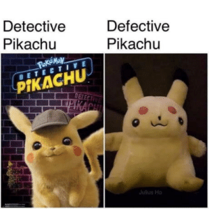 laughoutloud-club:  Chernobyl fluffy is a cool fluffy: Detective  Pikachu  Defective  Pikachu  DETECTIVE  PİKACHU  ulus Ho laughoutloud-club:  Chernobyl fluffy is a cool fluffy