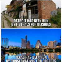 America, Detroit, and Feminism: DETROIT HAS BEEN RUN  BY LIBERALS FOR DECADES  TEMAS HAS BEEN RUN However Texas is turning blue so rip @guns_are_fun_💐 - Follow my backup - 🇺🇸 @rwqalice🇺🇸 ✨Tags your friends ✨ - - ❤️🇺🇸🙏🏻 politicians racist gop conservative republican liberal democrat libertarian Trump christian feminism atheism Sanders Clinton America patriot muslim bible religion quran lgbt government BLM abortion traditional capitalism makeamericagreatagain maga president