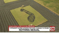 Probed: DEVELOPING STORY IN ALIEN MESSAGE  LIVE  3 STRAIGHT ALIENS LOOKING FOR COOL HUMANS TO PROBE CNN  NOTHING SEXUAL  245 PM PT