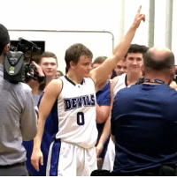Memes, Record, and Single: DEVILS Mac McClung broke Allen Iverson's single season points record with this shot! Congrats @McclungMac !! https://t.co/XRQuQo1Mq2