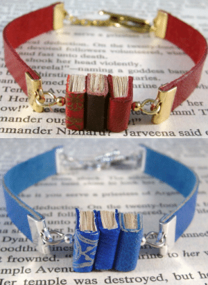 """These gorgeous book bracelets can be found at JanDaJewelry on Etsy. : devoied foilowers voluntce  and fas unto death.  shook her head violently.  areela!""""  naming a goddess bang  irstin  vned.  aries.  hrine  Tem  ! Her  her  mm! T  ow!""""  Je se  mander oug  nmander Niznaru?  7129  Jarveena said e   eleductio  ed foll  wenty-toot  pered  unto  a sh  Dya  oodthi lines  t frowned.  mple Avenu  Ter temple was destroyed, but he  er h  annec  Arine to her v  These gorgeous book bracelets can be found at JanDaJewelry on Etsy."""