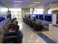 Game, Gaming, and Dfw: DFW Airport added a gaming lounge so you can game while you wait for your plane https://t.co/wVScI3sQfZ