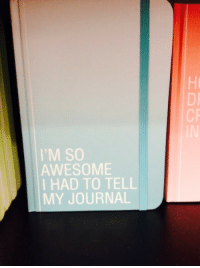 Target, Tumblr, and Blog: DI  CR  IM SO  AWESOME  I HAD TO TELL  MY JOURNAL literal-dragon:  Aph Prussia totally has this journal don't even try to tell me he doesn't