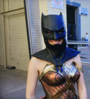 Batman, Tumblr, and Blog: dianapforlunch: Reblog Gal Gadot as Batman for 10,000 years of good luck