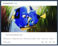 dianekeatonfan Foliow  We will never forget you, Dory  finding dory difinding dory gifs iffinding dory spoilers Adony ibaby dory Ajenny a  5,970 notes awh ;-;