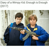"<p>Greg and Rowly gonna get into some tough shit this fall via /r/dank_meme <a href=""http://ift.tt/2qnLwwV"">http://ift.tt/2qnLwwV</a></p>: Diary of a Wimpy Kid: Enough is Enough  (2017)  KINGOFCOONERY <p>Greg and Rowly gonna get into some tough shit this fall via /r/dank_meme <a href=""http://ift.tt/2qnLwwV"">http://ift.tt/2qnLwwV</a></p>"