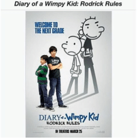 The simpler timez: Diary of a Wimpy Kid: Rodrick Rules  WELCOME TO  THE NEXT GRADE  DIARY Wimpy Kid  RODRICK RULES The simpler timez