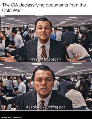 """DiCaprio from """"The Wolf of Wallstreet"""" talking about legality: DiCaprio from """"The Wolf of Wallstreet"""" talking about legality"""