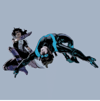 Target, Tumblr, and Blog: dickgraysondaily:huntress and nightwing in nightwing #26