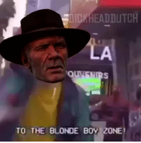 Shit, Tumblr, and Wat: DICKHEADDLTCH  TO THE BLONDE B0Y ZONE dickheaddutch:  I spent 2 hours making this shit save me   wat.