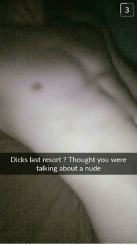 Dicks of snapchat