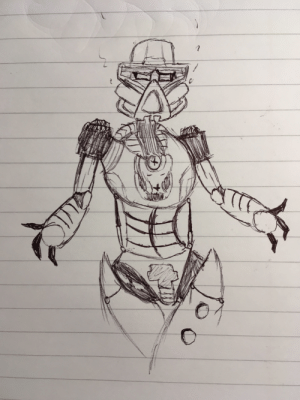 Did a drawing of Gali what you guys think: Did a drawing of Gali what you guys think