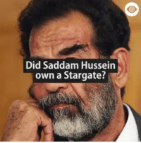 Memes, Iraq, and Time: Did Saddam Hussein  own a Stargate? Follow @alltime_conspiracies Check my time line for a post that I made several times about the fact that the United States military was in Iraq for the purpose of securing a stargate that Saddam Hussein was Darting inside the Ziggurat of Ur. Follow @alltime_conspiracies Follow @alltime_conspiracies Follow @alltime_conspiracies 4Biddenknowledge