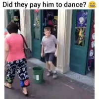 Dance, Him, and Why: Did they pay him to dance? Why they hyping him up tho ? ?😂😂😭