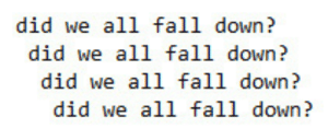 lethalinjecti0n:Desert Song - My Chemical Romance: did we all fall down?  did we all fall down?  did we all fall down?  did we all fall down? lethalinjecti0n:Desert Song - My Chemical Romance