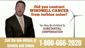 Did You Contract WINDMILL CANCER From Turbine Noise? You ...