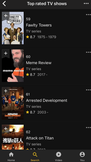 Did you know Meme Review is #60 Top Rated TV show on IMDb?: Did you know Meme Review is #60 Top Rated TV show on IMDb?