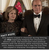 Which actors-actresses who haven't yet won deserve an Oscar?📽️🎬 • • • • Double Tap and Tag someone who needs to know this 👇 All credit to the respective film and producers. Movie Movies Film TV Cinema MovieNight Hollywood Netflix amyadams vice christianbale: DID YOU KNOW  MOVIES  FACT #1270  Amy Adams stayed in character during filming  on Vice especially keeping her character's  distinct voice. She would even have political  debates with the director while maintaining the  voice. Adams revealed that it was the first time  she stayed in character throughout filming Which actors-actresses who haven't yet won deserve an Oscar?📽️🎬 • • • • Double Tap and Tag someone who needs to know this 👇 All credit to the respective film and producers. Movie Movies Film TV Cinema MovieNight Hollywood Netflix amyadams vice christianbale