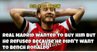 'Lord' Bendtner: DID YOU KNOW  ReAL MADRID WAnTeD TO BuY HIm BuT  He ReFuseD BecAuse He DIDn T wAnT  TO BenCH RONALDO 'Lord' Bendtner
