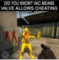 Anaconda, Cheating, and Love: DID YOU KNOW? VAC MEANS  VALVE ALLOWS CHEATING  BPT Alfred 100%  120 Sounds legit hahaha VAC 😂💀 I love this one its made by @csgo.addicted