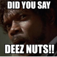 Deez Nuts: DID YOU SAY  DEEZ NUTS!!