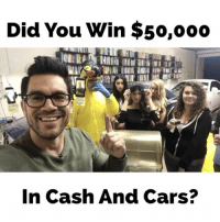 I don't know why I was yelling so much😑: Did You Win $50,ooo  In Cash And Cars? I don't know why I was yelling so much😑